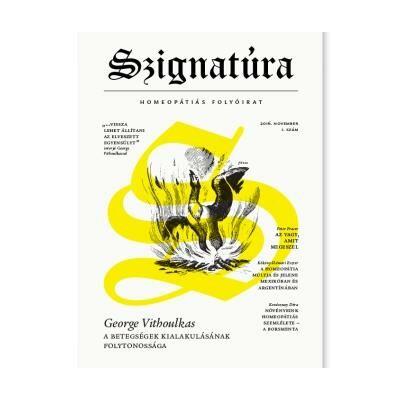 Szignatúra_1 homeopátiás folyóirat